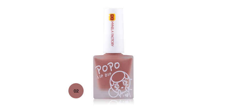 Mynila Factory Popo Lip Dip 7ml #02