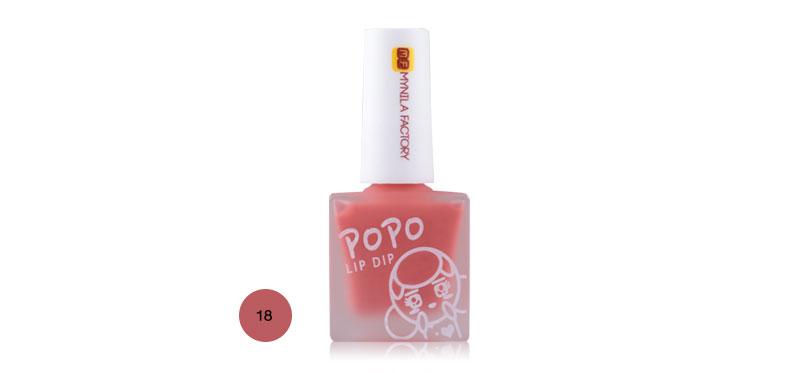 Mynila Factory Popo Lip Dip 7ml #18