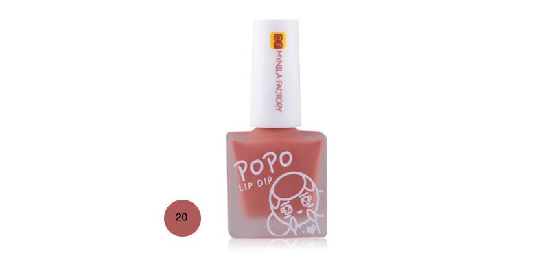 Mynila Factory Popo Lip Dip 7ml #20