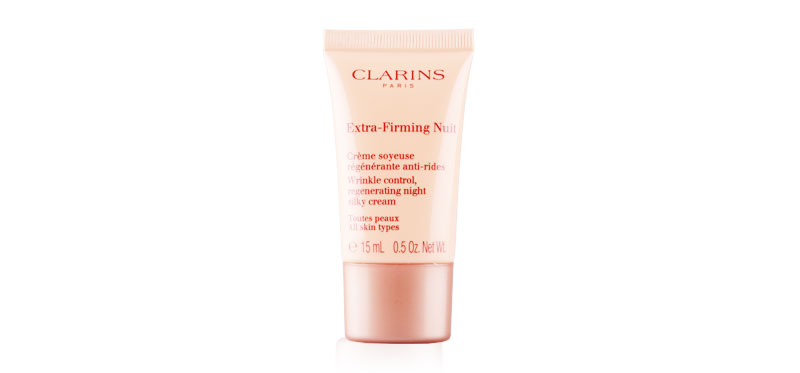 Clarins Extra-Firming Nuit Wrinkle Control, Regenerating Night Silky Cream 15ml