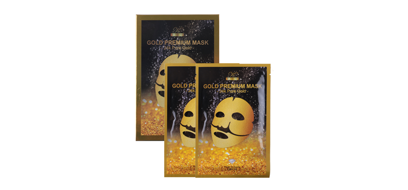 Beauty by Kriss Gold Premium Mask 24K Pure Gold 25ml
