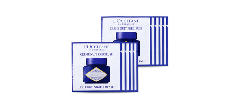L'Occitane Immortelle Precious Night Cream (1.5mlx10pcs)