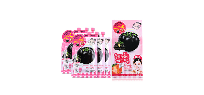 Kisaa Whitening Aura Cream (10ml x 6pcs)