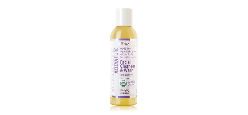 Alteya Organics Facial Cleanser & Wash Pure & Lavender 150ml