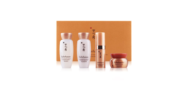 Sulwhasoo Concentrated Ginseng Renewing Basic Kit 4 Items