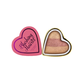#Peachy Keen Heart Blusher