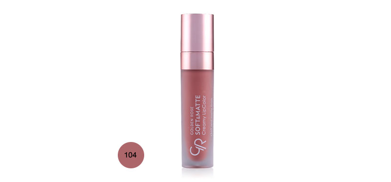 Golden Rose Soft & Matte Creamy Lipcolor 5.5ml #104