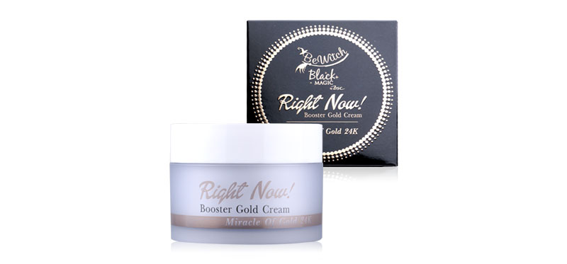 BeWitch Black Magic By Bsc Right Now! Booster Gold Cream 25g
