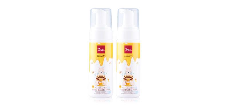 แพ็คคู่ Honei V BSC Sweet Honei Bear Facial Bubble Foam (160ml x 2pcs)