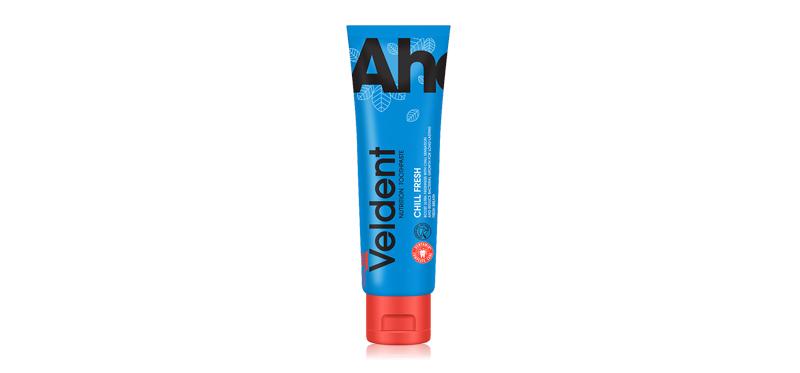 VELDENT Chill Fresh Toothpaste 160g ( สินค้าหมดอายุ : 2021.09 )