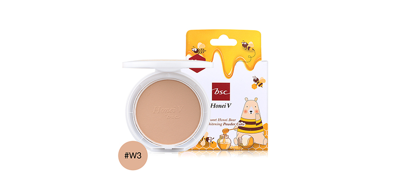 Honei V Bsc Sweet Bear UV Powder Cake 9g #W3