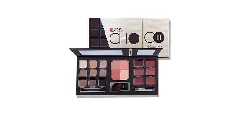 Bsc Panadda Choco Beaute'Iii Make Up Palette #X2