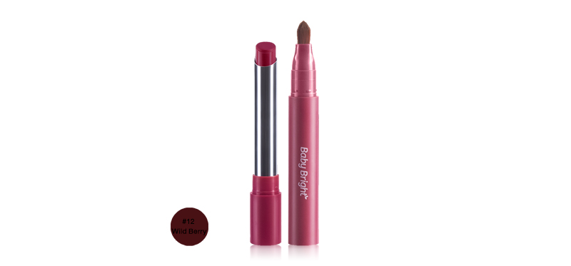 Baby Bright MM Mineral Matte Lip Paint 2g #12 Wild Berry