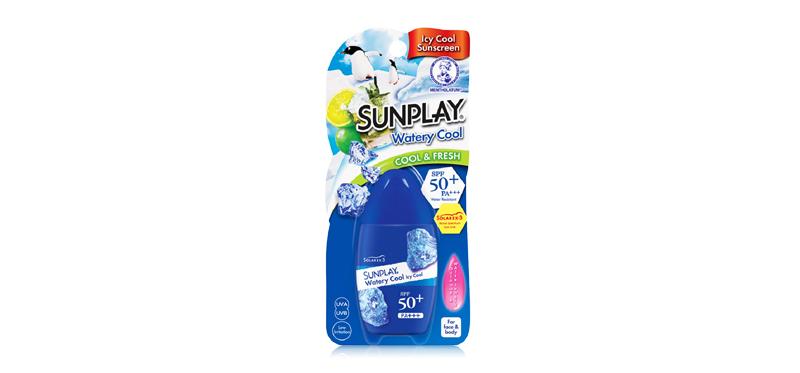 Sunplay Watery Cool SPF50/PA+++ 35g ( สินค้าหมดอายุ : 2020.02 )