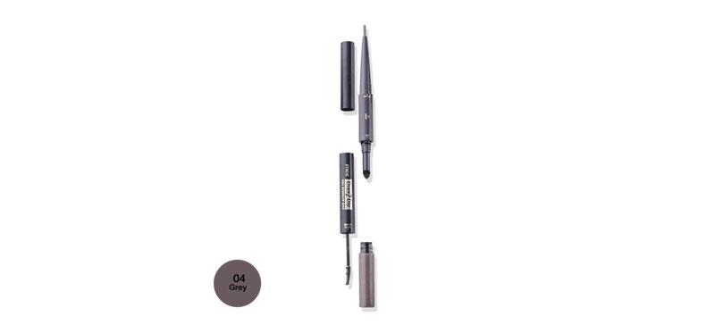 Mee Draw 2 Dip 3IN1 Eyebrow Kits #04 Grey