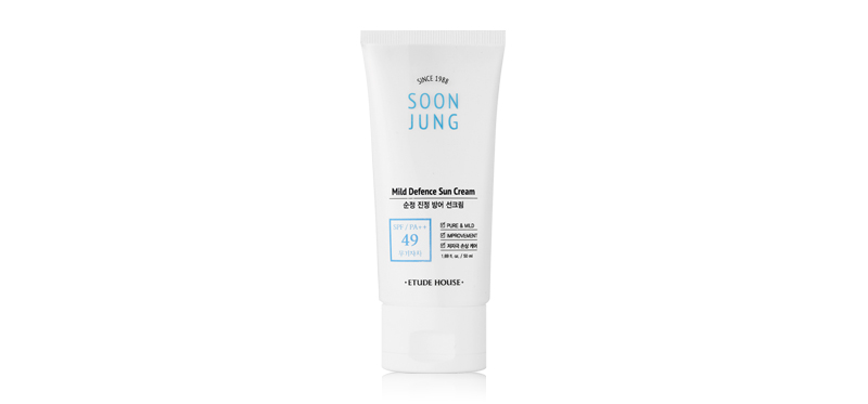 Etude House Soon Jung Mild Defence Sun Cream SPF49/PA++ 50ml