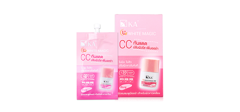 KA UV White Magic CC SPF25/PA+++ Pink (7g x 6pcs)