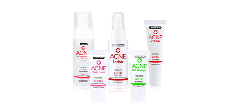 Dr.Somchai Acne Set 5 Items