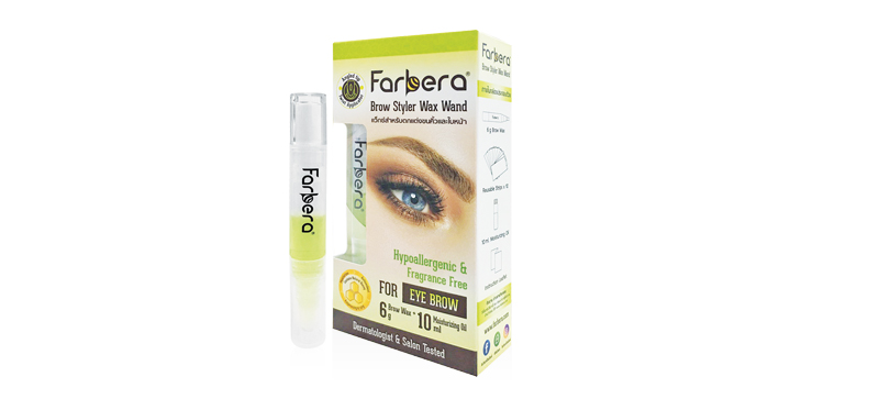 Farbera Brow Styler Wax Wand Set 3 Items