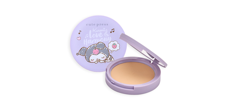Cute Press Love and Harmony Pore Blurring Powder Pact 12g #02 Medium Alto