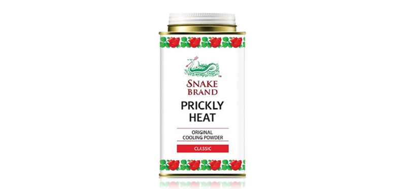Snake Brand Prickly Heat Original Cooling Powder 140g #Classic