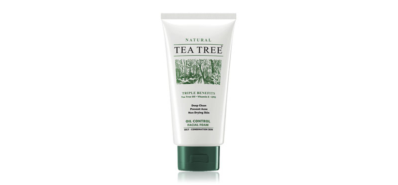 Tea Tree Oil Control Facial Foam 140g