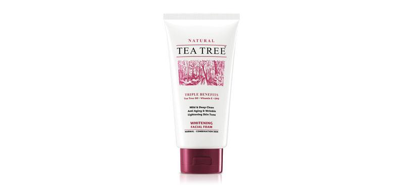 Tea Tree Whitening Facial Foam 140g