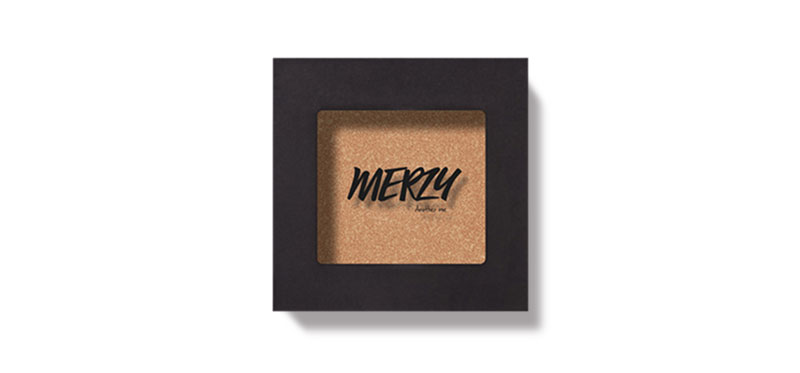 MERZY The First Eye Shadow 2.2g #E4 Marilyn Gold ( สินค้าหมดอายุ : 2021.02 )