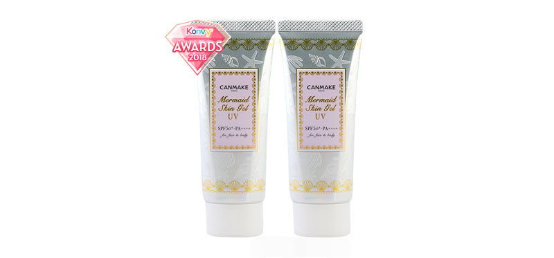 แพ็คคู่ Canmake Mermaid Skin Gel UV SPF50/PA++++ 40gx2