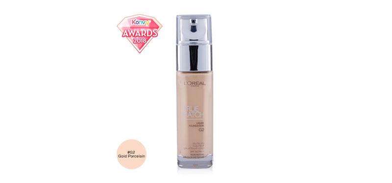 L'Oréal Paris True Match Liquid Foundation SPF 16PA++ 30ml #G2 Gold Porcelain