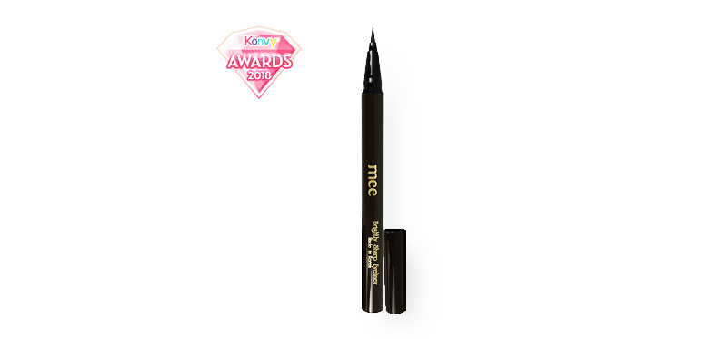 Mee Brightly Sharp Eyeliner Waterproof #Brown