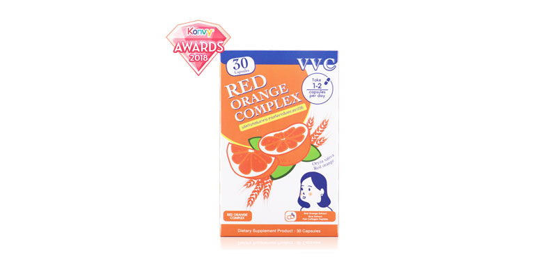 VVC Red Orange Complex 30 Capsules (Box)