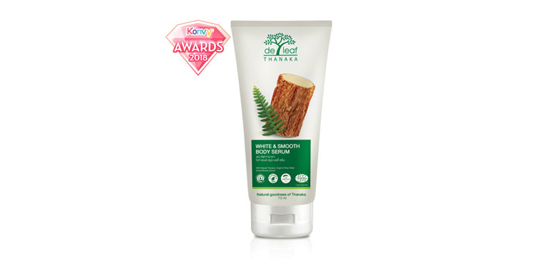 De Leaf Thanaka White & Smooth Body Serum 70g