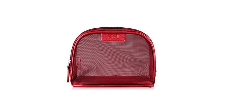 SK-II Bag Net Pouch #Red