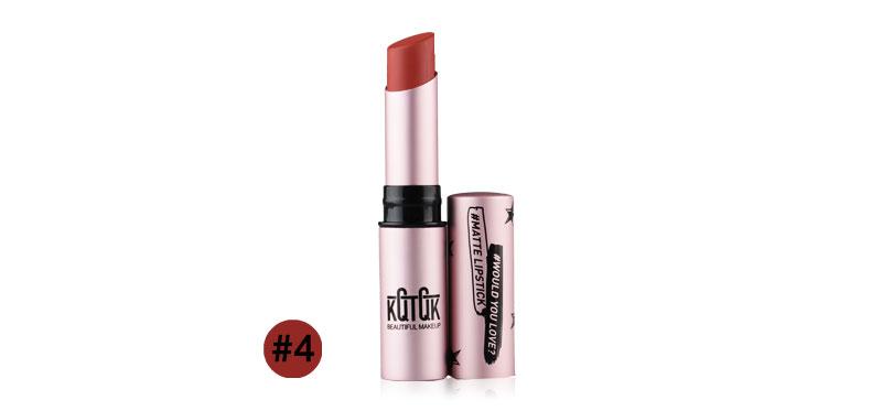 KQTQK Diamond Matte Lipstick 3.2g #4