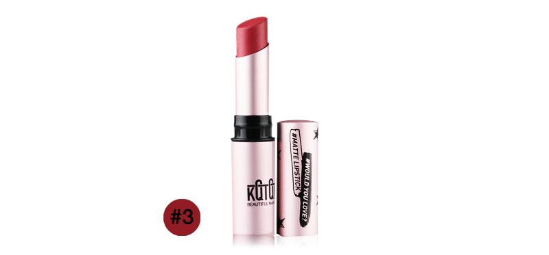 KQTQK Diamond Matte Lipstick 3.2g #3
