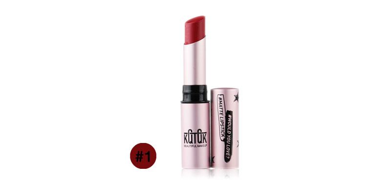 KQTQK Diamond Matte Lipstick 3.2g #1