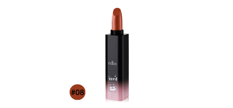 ODBO Oops! Cutest Collection Color Lipstick 3.5g OD510 #08