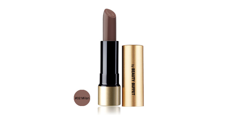 Beauty Buffet GINO McCRAY Prestige Velvet Matte Lipstick 4.5g #02 Milan