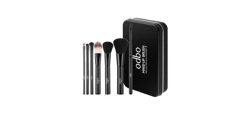Odbo Makeup Brush 7pcs OD809 #01 Black