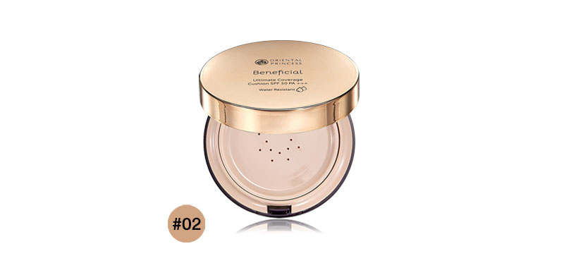 Oriental Princess Beneficial Ultimate Coverage Cushion SPF50/PA+++ 13.5g #02