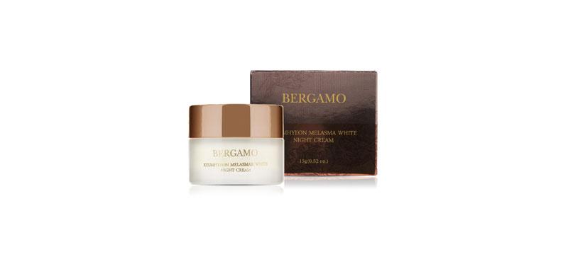 Bergamo Keumhyeon Melasma White Night Cream 15g