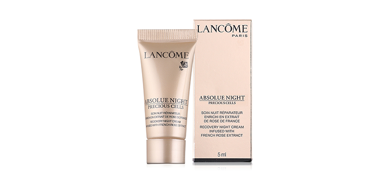 Lancome Absolue Night Precious Cells Recovery Night Cream Infused With French Rose Extract 5ml (No box)