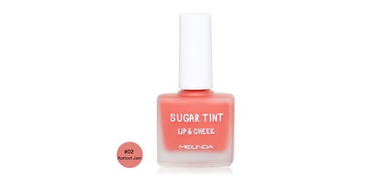 Mei Linda Sugar Tint Lip & Cheek 12g #02 Apricot Jam