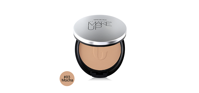 Beauty Buffet Gino Mccray The Professional Make Up Extreme Full Coverage Powder Foundation 11g #03 Mocha