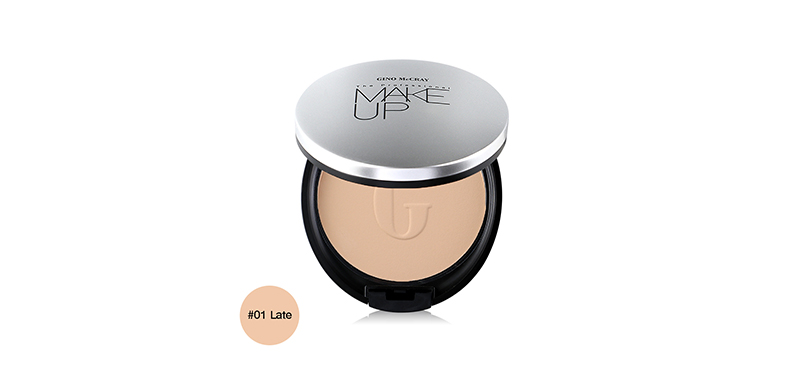 Beauty Buffet Gino Mccray The Professional Make Up Extreme Full Coverage Powder Foundation 11g #01 Late