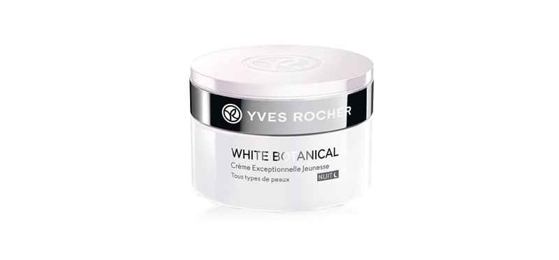 Yves Rocher White Botanical Youth Cream Night 50ml