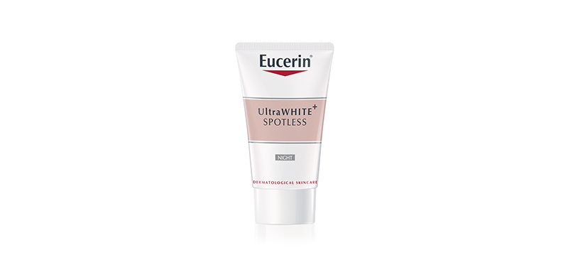 Eucerin Ultrawhite Plus Spotless Night Fluid 20ml ( สินค้าหมดอายุ : 2021.08 )