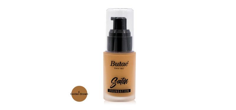 Butae Satin Founadation 30ml #4 Golden Brown