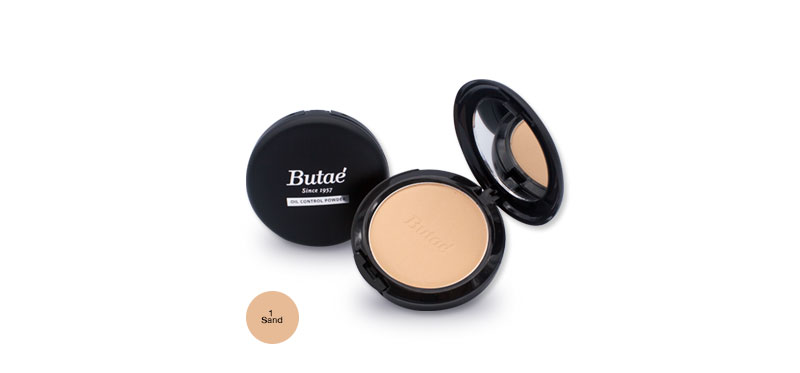 Butae Oil Control Powder 17g #1 Sand
